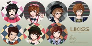 UKISS 0330 PINS - fanart! by lxoivaeh