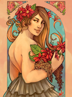 co: The flower girl by Momo-Deary