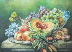 still life with color pencils by Aoime