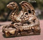 Pewter Dragon Side by Reptangle