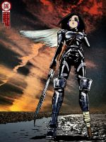 Ouroboros - Battle Angel Alita by musashimixinq