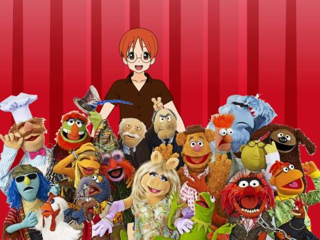 Sean and the Muppets by Zuko-Halliwell