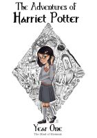 The Adventures of Harriet Potter. Year One. Cover by Momagie