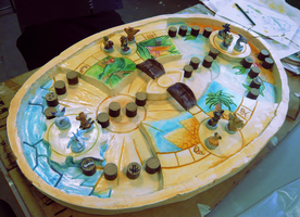 + Art A-Level + Game Board by Kida-Ookami