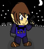Leon Scott Kennedy by CartoonFreak101