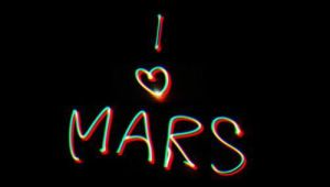 I love Mars by SynysterSoldier
