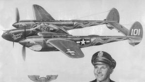 Warplane in pencil by AthenaTT