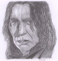 Snape by mercuryy
