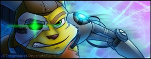 The Cyborg Ratchet by RatchetMario