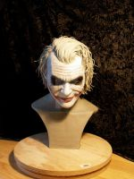 Ledger Joker Bust by hairlesswookiee
