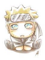 Cute Naruto by MauroIllustrator