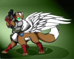 Fox Mccloud W. Taur Request by dragonheart07