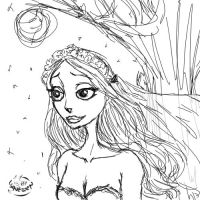 CorpseBride-Emily Alive by Lunewen