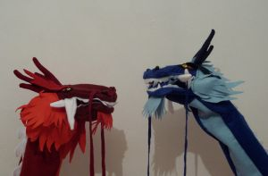 Ran and Shao Puppet by Caranth