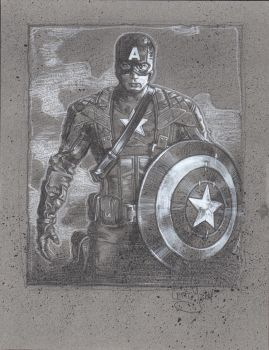Captain America by JeffLafferty