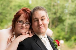 Our Wedding Picture by PlaidRed