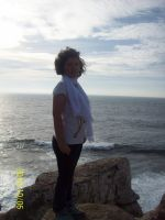 Me in the edge of the world by Katy500