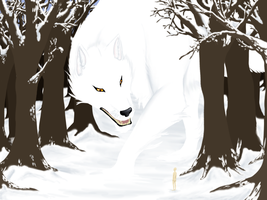 The Winter Wolf by Der-Fuchsprophet