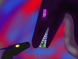 Merry Christmas! (Overlord and Chazor) by ArthkorStarGlow13