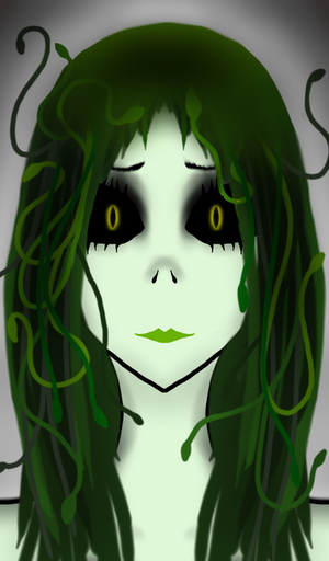 Medusa the daughter of Phorkys and Keto