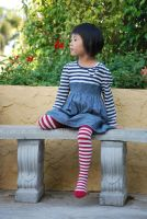 Striped Stockings 5 by SBG-CrewStock