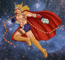 Thor of the 10th Realm by matsunoki