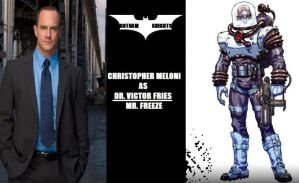 Gotham Knights T.V. Series Fan Cast - Freeze V.1 by RobertTheComicWriter