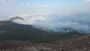 Walking above the clouds at 14000 ft above sea lvl by AGalWithACamera