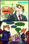 Zootopia Short - Mayoral Elections by RobertFiddler
