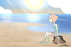 Pearl x Rose storyboard by Ksuriuri
