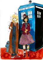 London and Maddie are the Doctors II by SonicPossible00