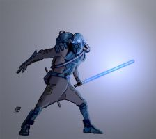 The Monkey Jedi by FlyingNerve