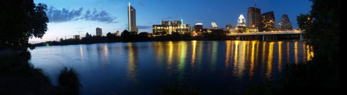 Auditorium Shores panorama by annableker
