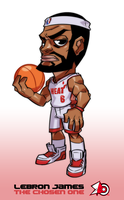 LebronToy by zeoarts