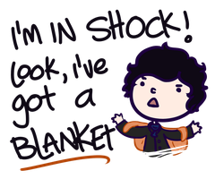 Sherlock: Blanket by saladsalty