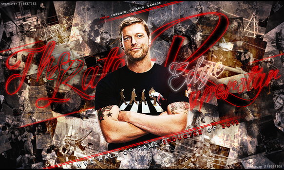 Wwe Hall of Famer Edge Wallpaper by Llliiipppsssyyy
