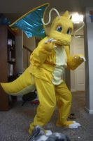 Dragonite Costume by DragonwolfRooke