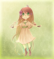Chibi Request- Nature Girl by Dusty-Roses