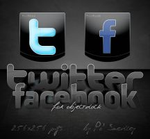Twitter Facebook for OD by PoSmedley