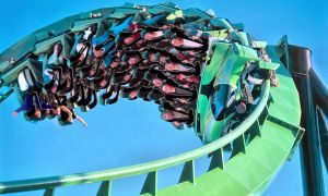 Green Lantern - Six Flags Great Adventure USA by Phi1997