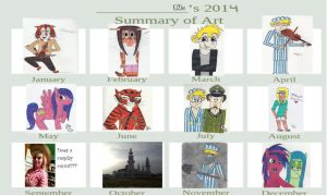 Art Summary 2013 by Kungrea