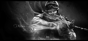 Sign Counter Strike by ROH2X