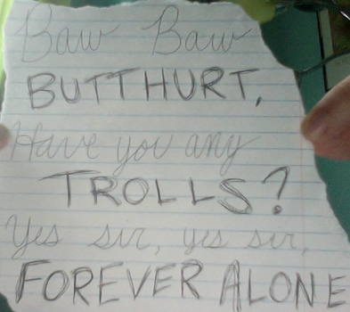 Baw Baw Butthurt... by pandapie578