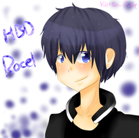 Happy Birthday Rocel! by moomoko
