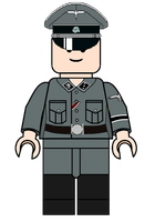 LEGO SS-TV officer by fORCEMATION