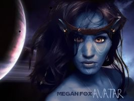 Megan Fox Avatar by PixelAnge