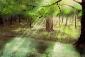 Foret by MlleMew