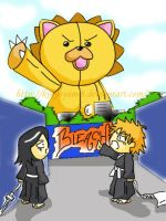 chibi bleach color by kikyoyami8
