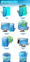 Azuexis Icon Set by code90