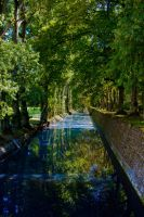 The blue canal by DeviantTeddine